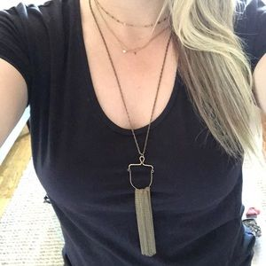 Gold Deco Necklace
